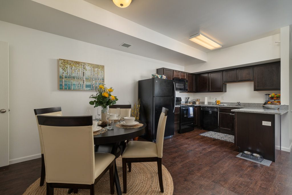 Gateway Apartments Dining kitchen